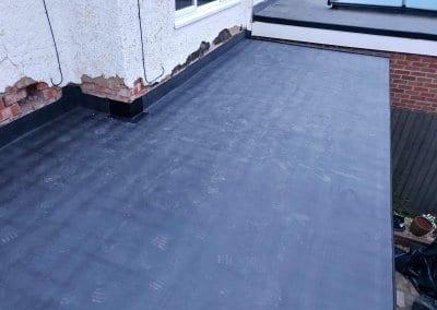 Flat Roof Finishing