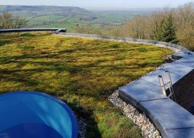 Garden Roof Work