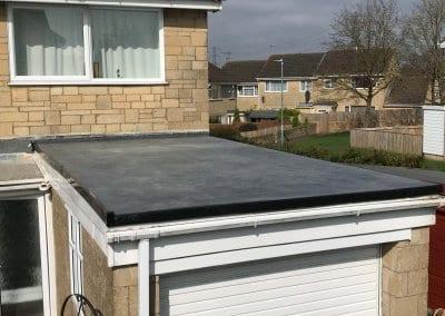Garage Roof Work