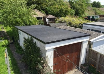 Garage Replacement Flat Roof